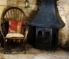 chair-next-to-wood-burner